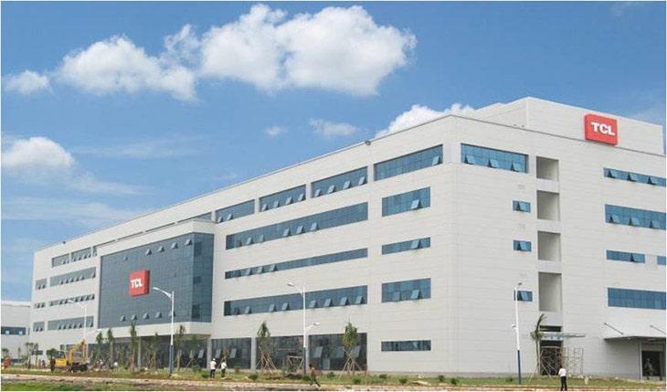 Tivi TCL giá rẻ có trụ sở chính ở Thâm Quyến Ttung Quốc