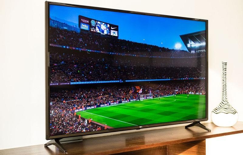 tivi LG xem bóng đá