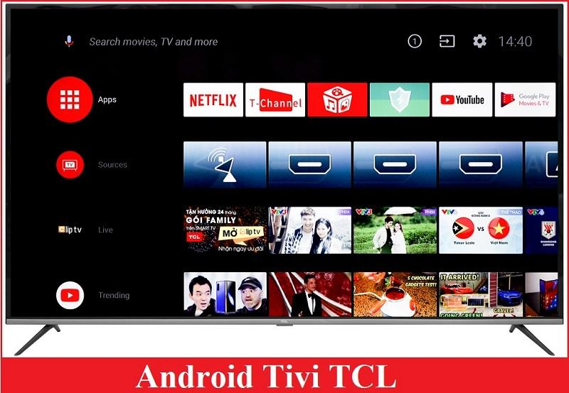 Android tivi TCL