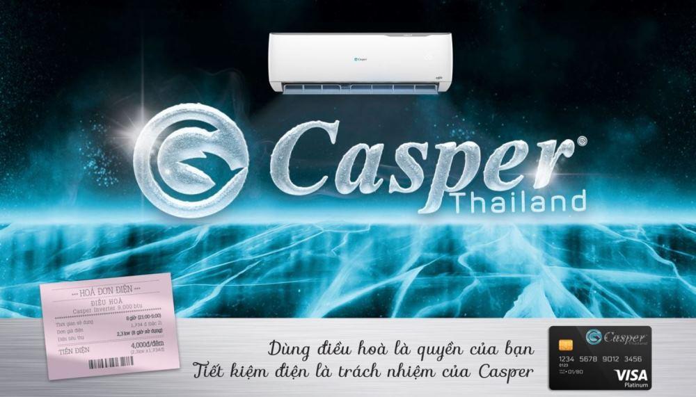 Điều hòa Casper 9000BTU 1 chiều