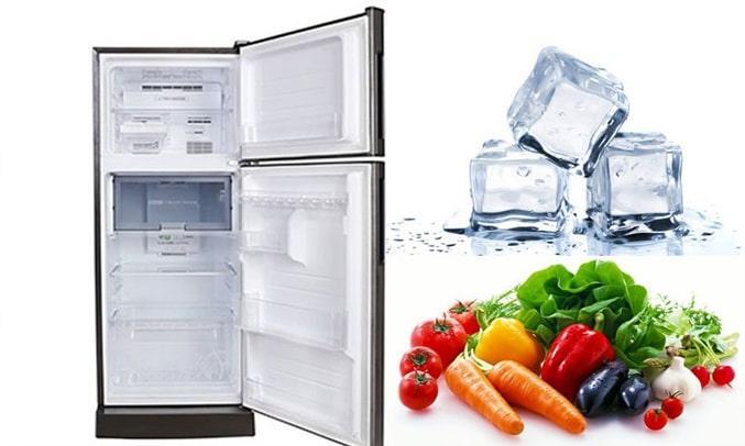 Tủ Lạnh SHARP SJ-X201E-SL thiết kế nhỏ gọn