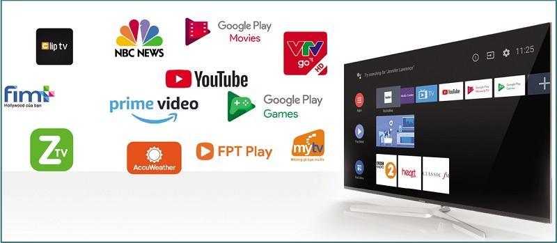 Tivi Casper 43FG5000 kho ứng dụng đa dạng