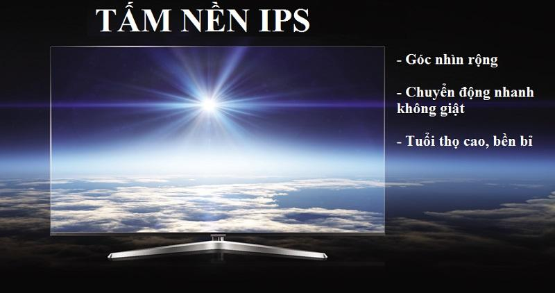 sử dụng tấm nền IPS hiện đại