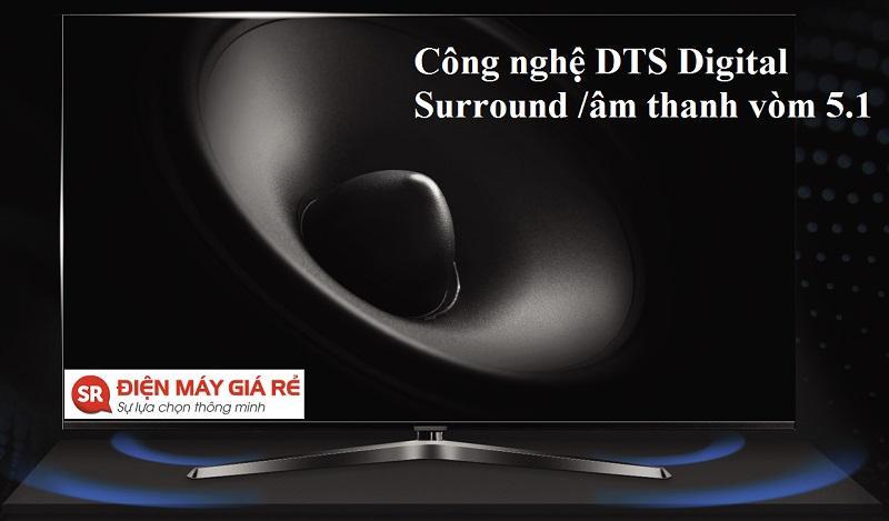 công nghệ âm thanh DTS Trusurround