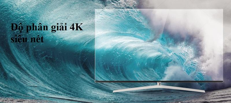 Tivi Casper 65EG8000 trang bị độ phân giải 4K
