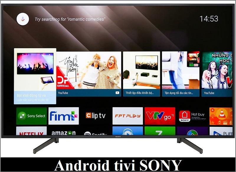 Android tivi Sony