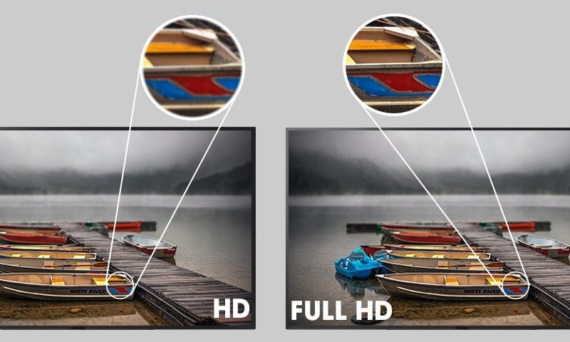 tivi Full HD cho hình ảnh sắc nét
