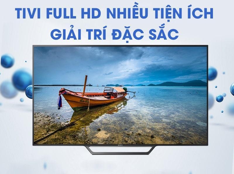 Tivi Full HD nhiều tiện ích giải trí đặc sắc