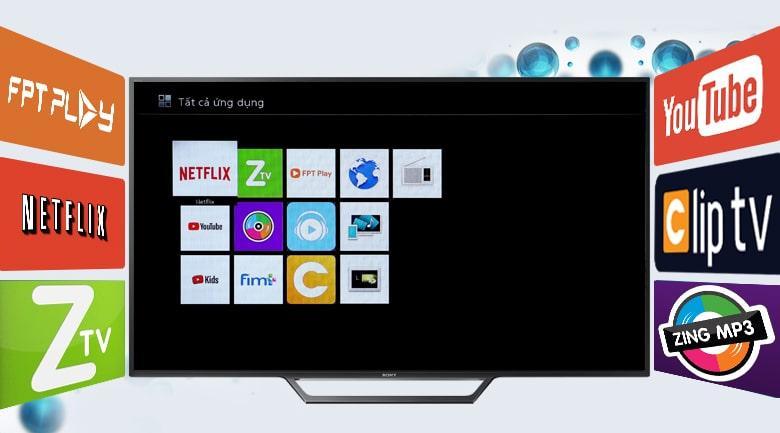 internet tivi sony cho giao diện dễ sử dụng