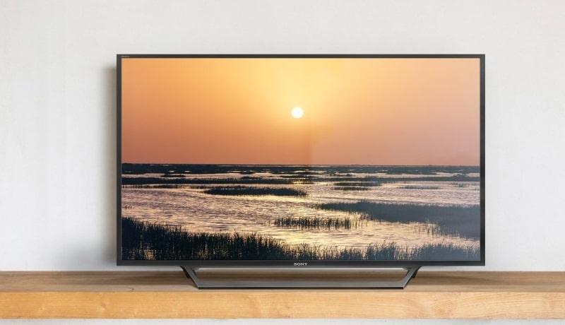 Tivi Sony KDL-40W660E thiết kế hiện đại, bắt mắt