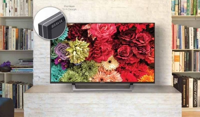 Tivi Sony KDL-40W660E khả năng hiển thị ấn tượng