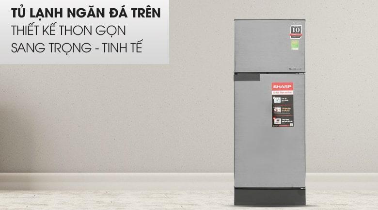 Tủ lạnh Sharp SJ-X196E-DSS thiết kế thon gọn, tinh tế