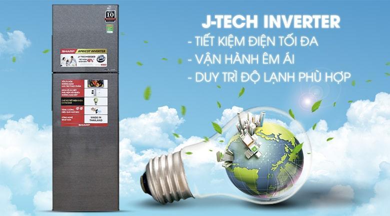 vận hành êm ái với công nghệ J-Tech inverter