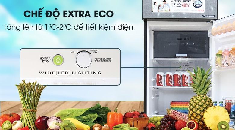Tủ lạnh Sharp SJ-X281E-DS trang bị chế độ EXTRA ECO