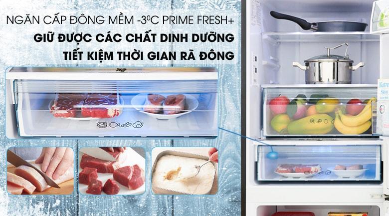 Tủ lạnh Panasonic NR-BV280GKVN có ngăn cấp đông mềm -3 độ C