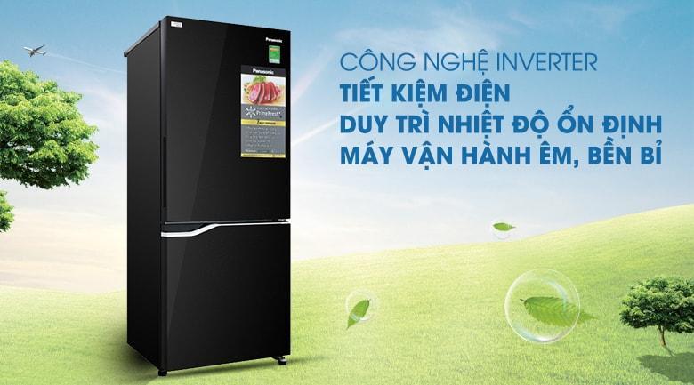 Tủ lạnh Panasonic NR-BV280GKVN tiết kiệm điện với công nghệ inverter