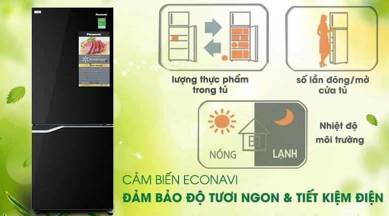 Tủ lạnh Panasonic NR-BV280GKVN cảm biến ECONAVI đảm bảo độ tươi ngon