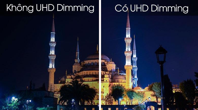 có UHD Dimming cho hiển thị màu đen thật hơn