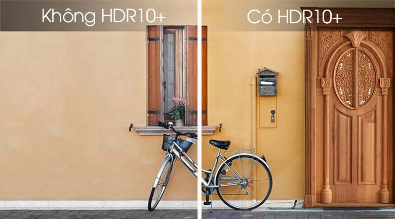 tăng cường độ tương phản với HDR10+