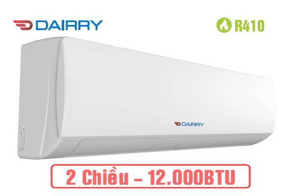 Điều hòa Dairry 12000BTU 2 chiều DR12-KH