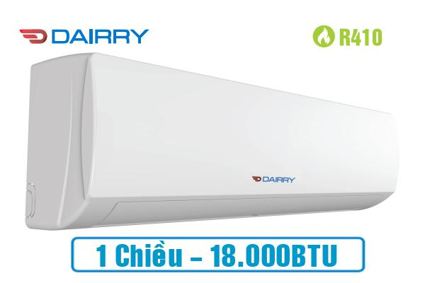 Điều hòa Dairry 18000BTU 1 chiều DR18-KC