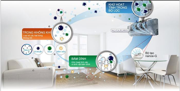 Điều hòa Dairry inverter 9000BTU 1 chiều i-DR09KC