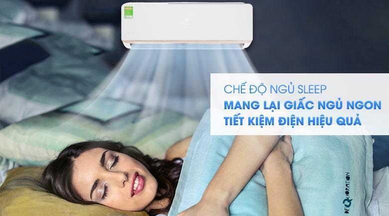 Có chế độ sleep
