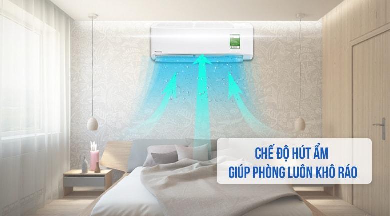 Điều hòa Panasonic CU/CS-N9UKH-8 hút ẩm tốt