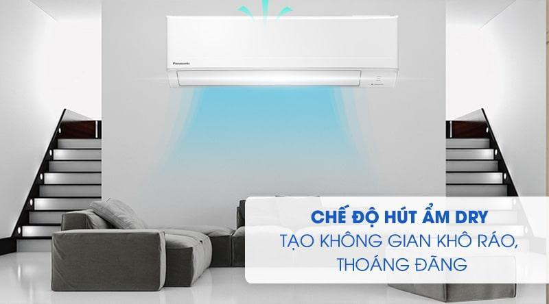 Điều hòa Panasonic CU/CS-N9WKH-8M chế độ hút ẩm dry