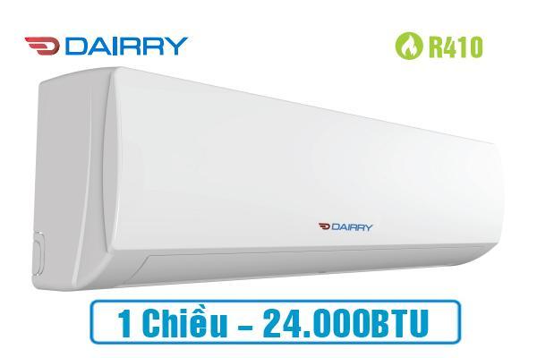 Điều hòa Dairry 24000BTU 1 chiều DR24-KC