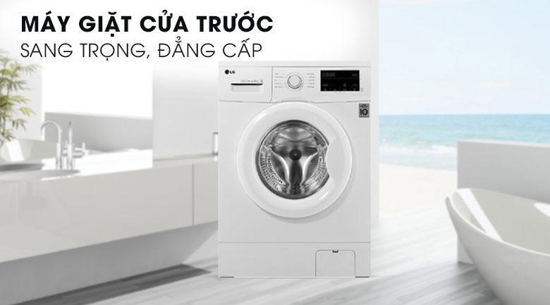 Máy giặt LG FM1209N6W thiết kế hiện đại, sang trọng