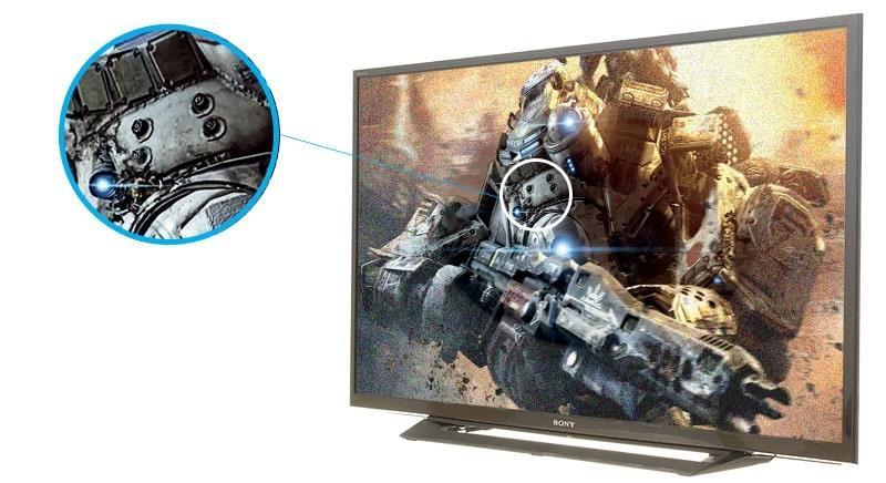 Tivi Sony KDL-32R300E 32 inch mang đến hình ảnh sắc nét