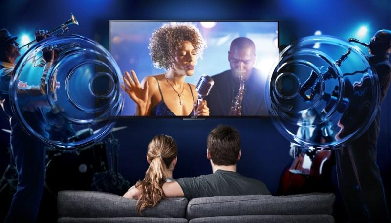 Tivi Sony KDL-32R300E 32 inch mang đến âm thanh mạnh mẽ, sống động