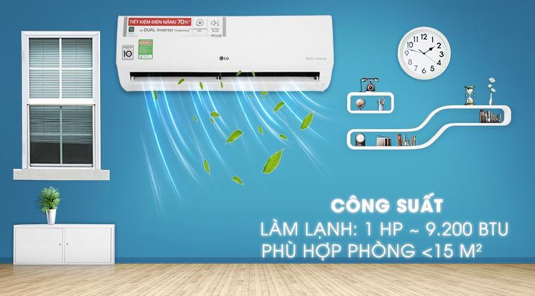 Điều hòa LG Inverter 9200 BTU V10ENH
