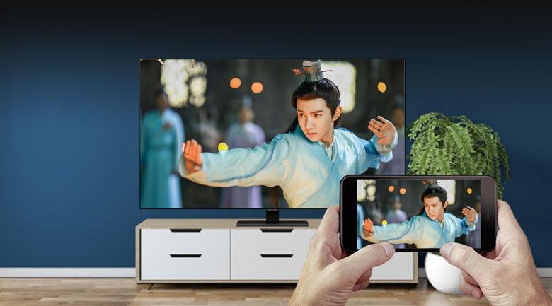 Chiếu màn hình điện thoại lên tivi rất đơn giản