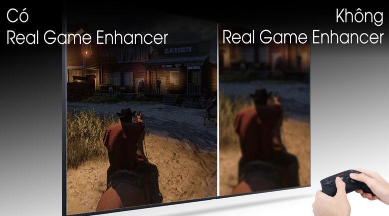 Tivi Samsung QA65Q80T sẽ làm hài lòng game thủ nhờReal Game Enhancer