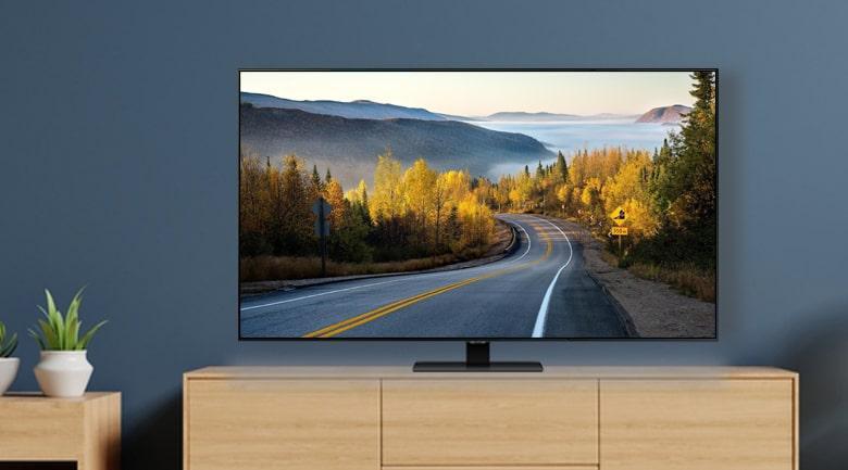 Tivi QLED Samsung QA65Q80T mang đến thiết kế không viền độc đáo năm 2020