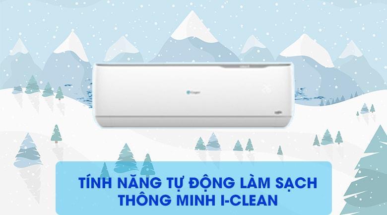 Tính năng tự động làm sạch I-clean trên dàn lạnh cho máy bền và sạch khuẩn