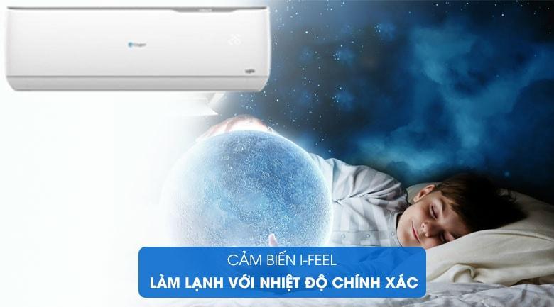 Điều hòa Casper GC-09TL32 trang bị cảm biến nhiệt độ thông minh I-feel