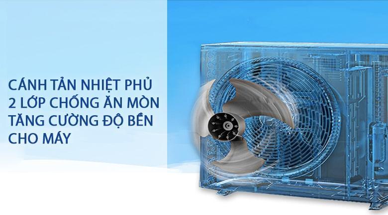Điều hòa Daikin ATF25UV1V trang bị lá tản nhiệt 2 lớp chống ăn mòn