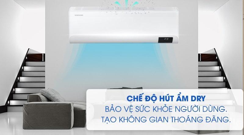 Điều hòa Samsung AR10TYGCDWKNSV hút ẩm cực tốt