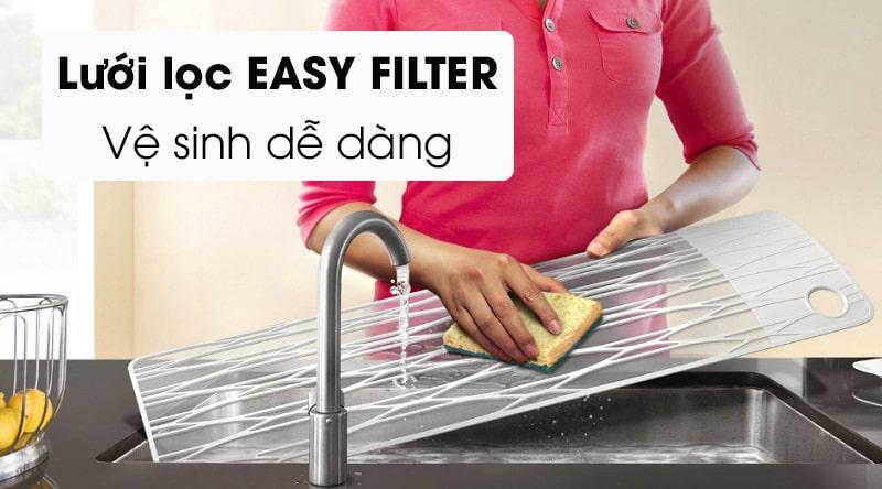 Easy Filter mà không cần thợ bảo trì