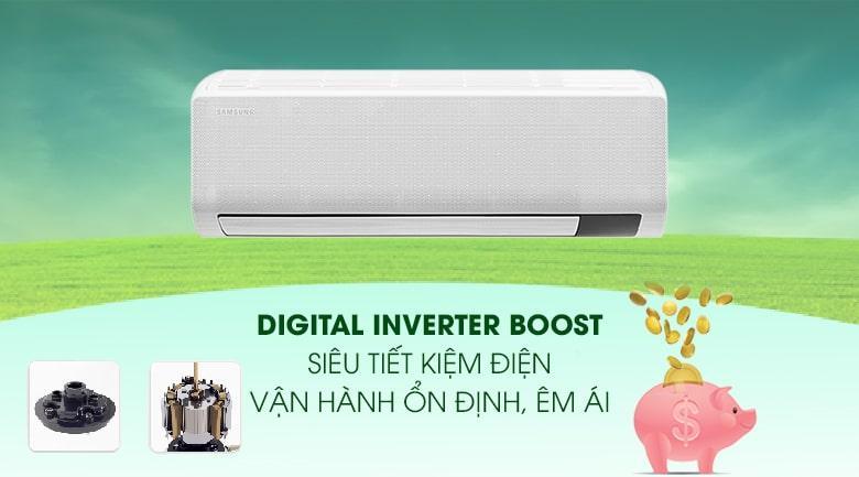 Điều hòa Samsung AR13TYGCDWKNSV trang bị Digital Inverter Boost tiết kiệm điện