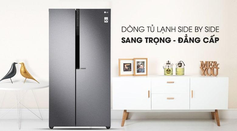 Tủ lạnh LG GR-B247JDS thiết kế sang trọng đẳng cấp