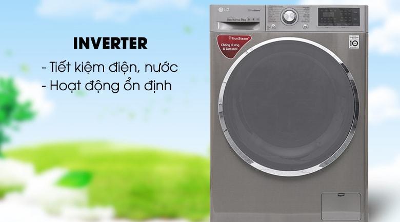Máy giặt LG FC1409S2E tích hợp công nghệ giặt inverter