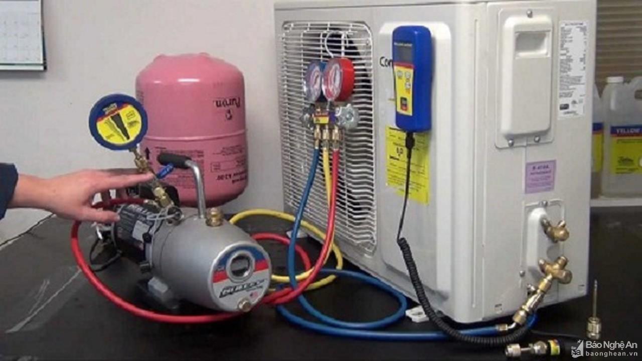 gas điều hòa bao lâu thì phải nạp