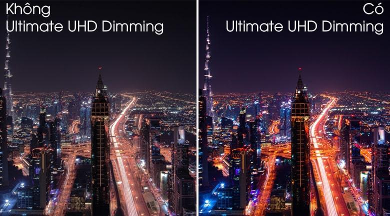 Tivi QLED Samsung QA49Q80T sở hữu công nghệ Ultimate UHD Dimming tiên tiến
