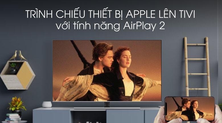 Thoải mái trình chiếu màn hình điện thoại Apple lên tivi với Airplay 2