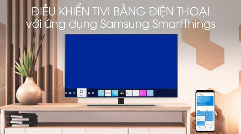 Trang bị ứng dụng SmartThings giúp bạn điều khiển bằng smartphone dễ dàng
