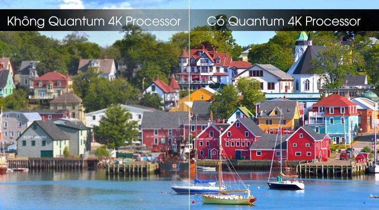 Tivi QLED Samsung QA75Q70T tích hợp AI trên bộ vi xử lý Quantum Processor 4K